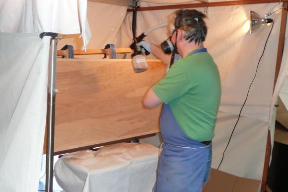 Spray Tent Operation