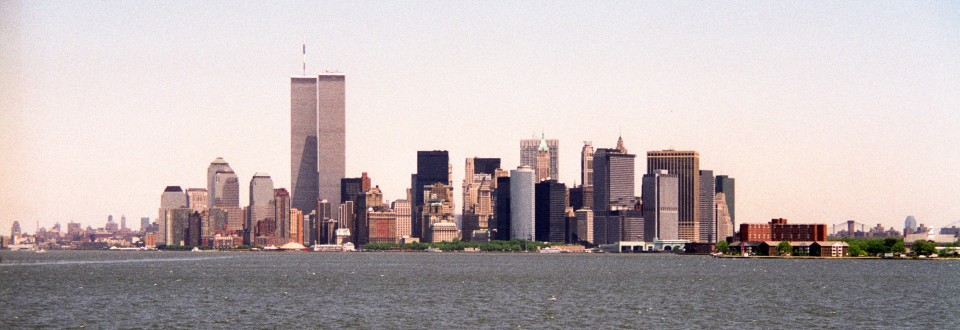 Twin Towers, New York Harbor, 1993
